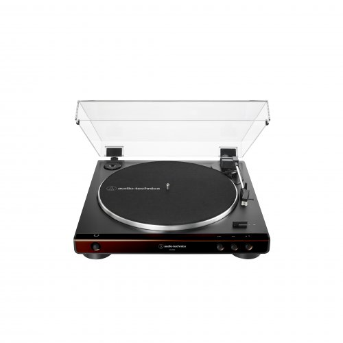 Audio Technica AT-LP60X Turntable - Brown/Black