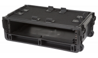 SKB 1SKB-ISF2U Injection Molded 2U Studio Flyer Rack Case