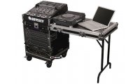 Odyssey Combo Rack 11U Slant / 12U Vertical with Table