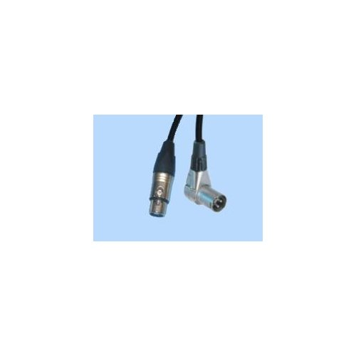 BRTB XCalibur 90-degree XLR Male to XLR Female Microphone Cable