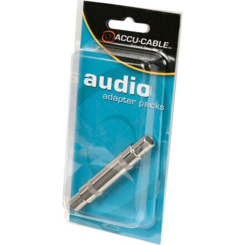 Accu-Cable ACQFQF Female 1/4in to Female 1/4in Coupler
