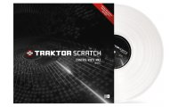 Native Instruments Traktor Scratch Pro Control Vinyl MKII (Each) - White