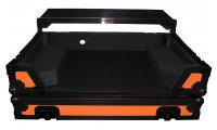 ProX Pioneer DDJ-RX/DDJ-SX3 Flight Case w/ Laptop Shelf - Orange/Black