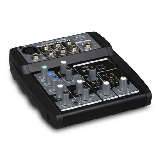 Wharfedale Connect 502USB 5-Input Mixer w/USB