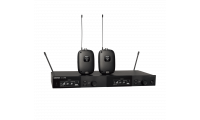 Shure SLXD14D Dual Wireless Bodypack System (Freq: H55)