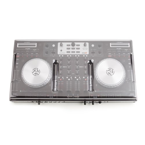 Decksaver Numark NS6 Smoked/Clear Cover