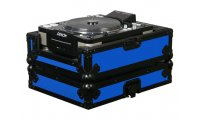 Odyssey Designer DJ CD Player Case - Black on Blue