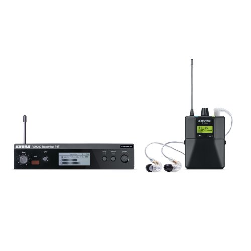 Shure P3TRA215CL Personal Monitor System w/ SE215 (Freq: J13)