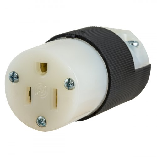 Hubbell HBL5269C Female Round UGround Edison 15a 125v 2P3W