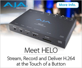 AJA HELO Streaming Encoder