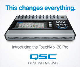 QSC TouchMix 30 Pro Digital Mixer - Now Available!